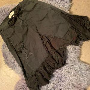 Dept Contrasting Hem Skirt